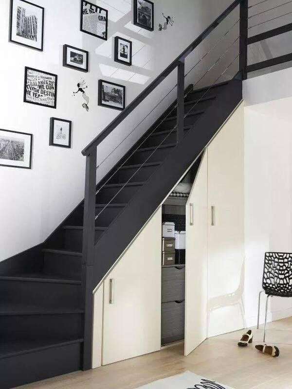 国外创意十足的楼梯柜设计