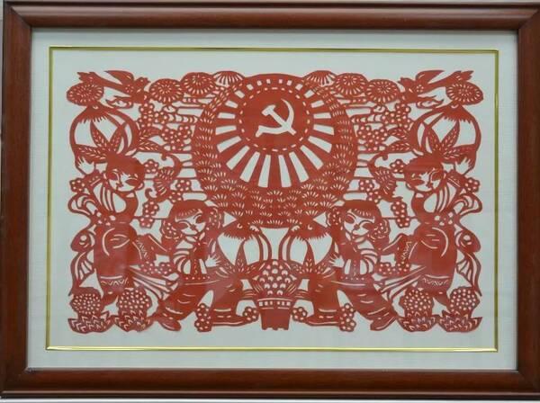 """""""永远的春天""""-托克托县统一战线纪念改革开放四十周年成就展"""