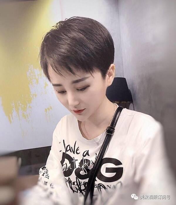 """2018流行""""帅气""""短发图片"""