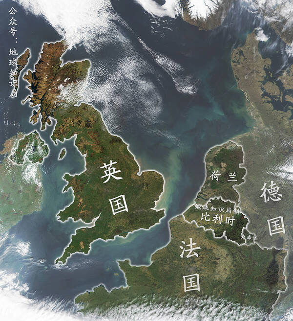 一对苦兄弟 英国的主体不列颠岛上一共只有两块成规模的低地,其中之