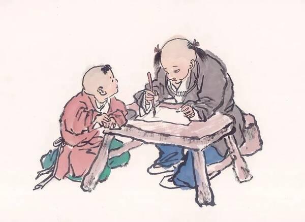 宗武生日 生在文人世家,应当熟精 文选 ,以邵家学,熟读