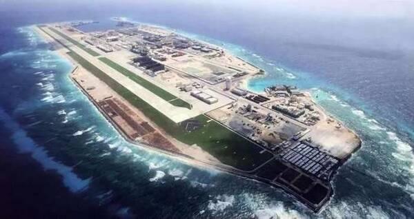 南沙群岛第一大人工岛是这样炼成的 傲视南海