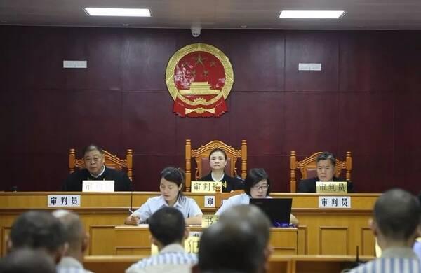 桂林中院公开开庭审理三类罪犯减刑案