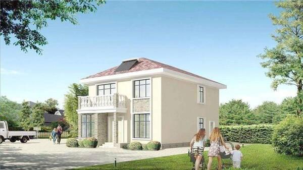 河南农村建房子设计图三层楼
