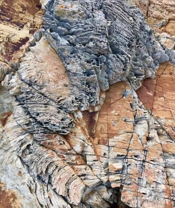 来自:莆田新城网 鸬鹚岛海水蓝,靠近平海 岛上还发现有着奇形怪状的