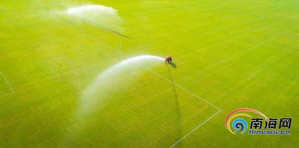 中国足球(南方)训练基地初现规模 打造亚洲著名