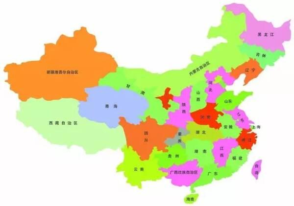 各省份人眼中的中国地图!河南被黑的最惨!扎心了