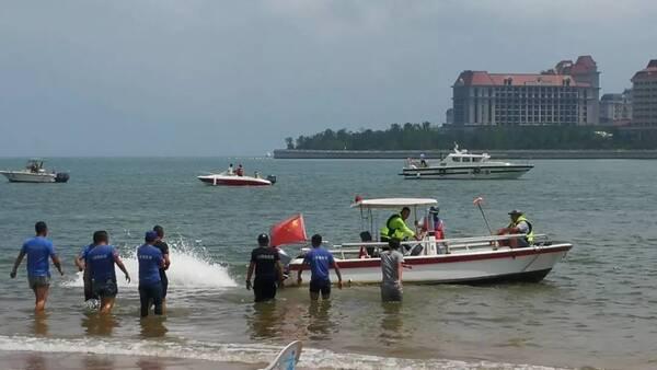两个孩子走丢的万达公馆海滩处没有监控,只能查看周边停车场及附近