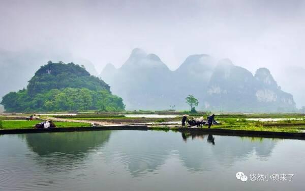 大自然,让居民望得见山,看得见水,记得住乡愁