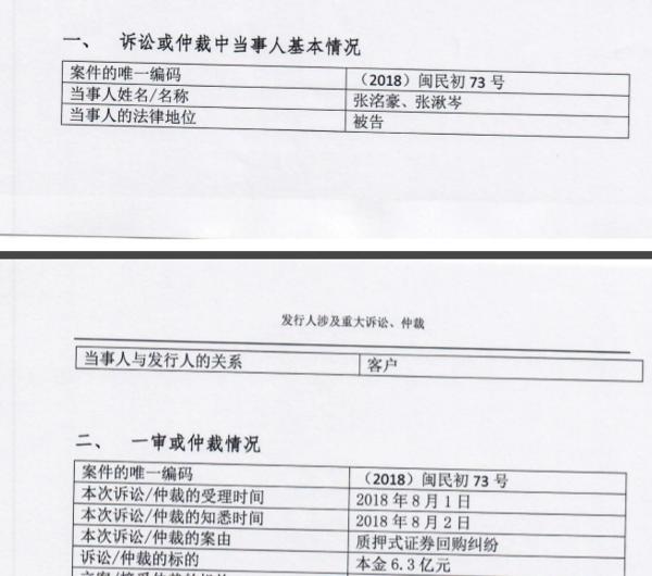 兴业证券诉长生董事长高俊芳之子,索要6.3亿元股票图片