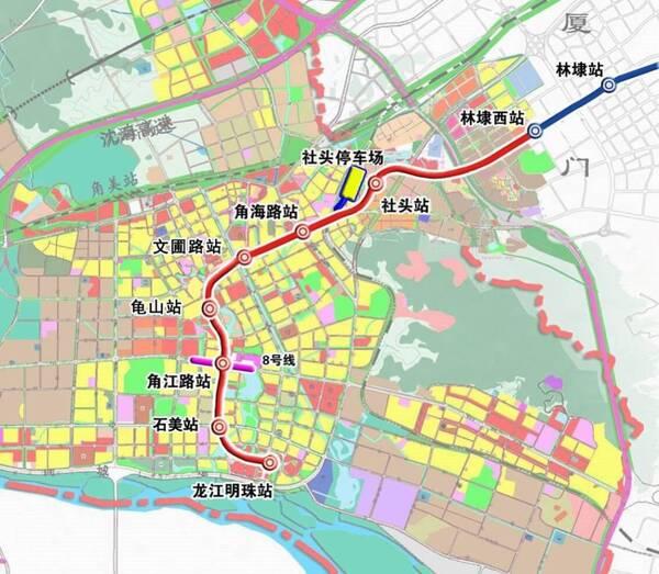 漳州角美新城区规划图