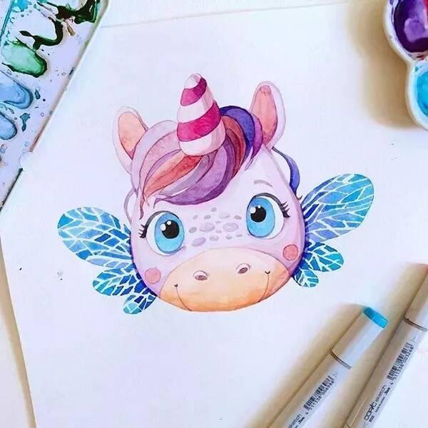 每一个动物的表情都是经过精心设计, 都长着一双水汪汪