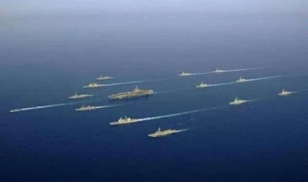 美国航母编队侦察能力有多强? 两百多架飞机提供保障