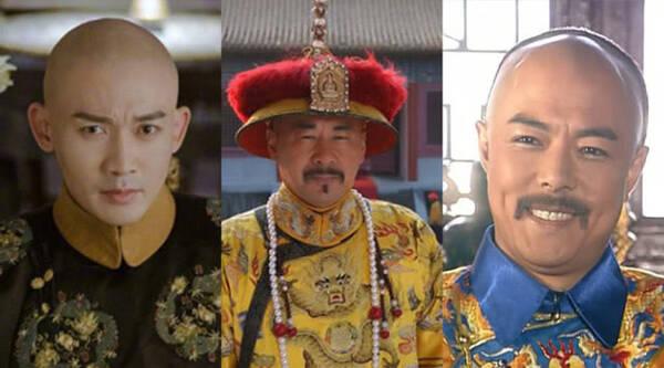 饰演雍正的陈建斌40岁;《还珠格格》1997年开机,饰演乾隆张铁林40岁.