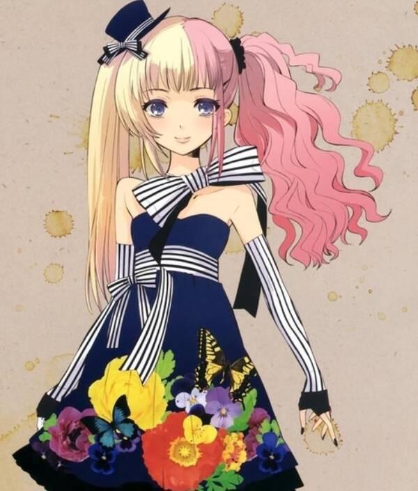 动漫头像:可爱小女孩的日常,你的衣服真好看真特别!