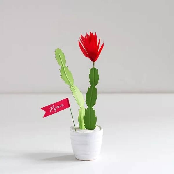 手工制作花径叶子