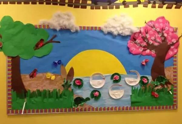 小小传承人幼儿园环创主题墙及楼道这样布置最好看!图片
