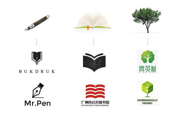 正负形logo设计的创意流程