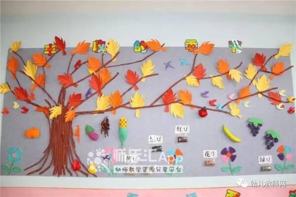 九月 是幼儿园开学的时间 主题墙当然也要有所创新啦!