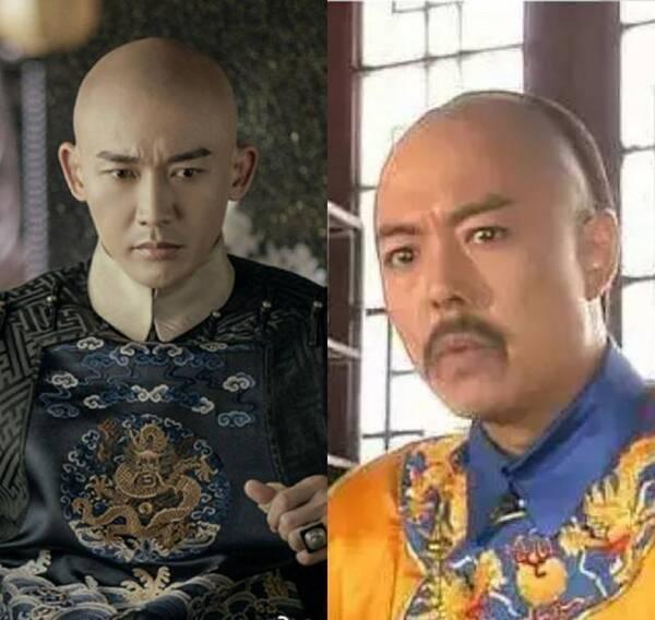 首先是乾隆的扮演者,分别是聂远和张铁林,这两部剧的故事差了20年