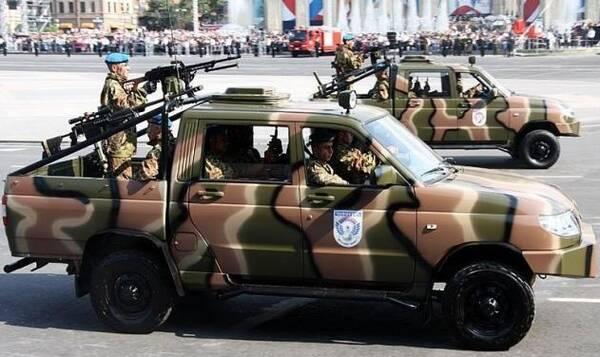 这就是俄罗斯陆军最新的武装皮卡车!
