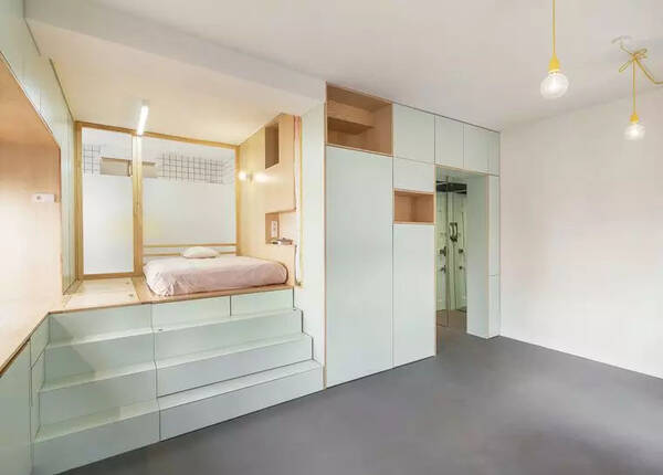 Pocket空间室内设计户型解析,小案例公寓把手双层ug模具设计图片