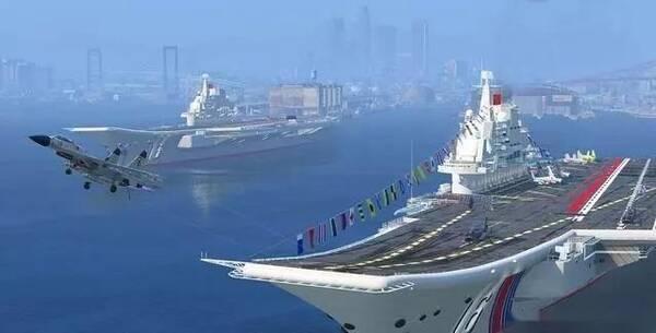 002号航母又冒烟了,中国双航母编队或将首次亮相!