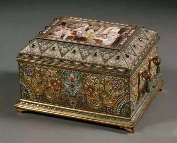 古代珠宝首饰盒:极尽奢华与精巧