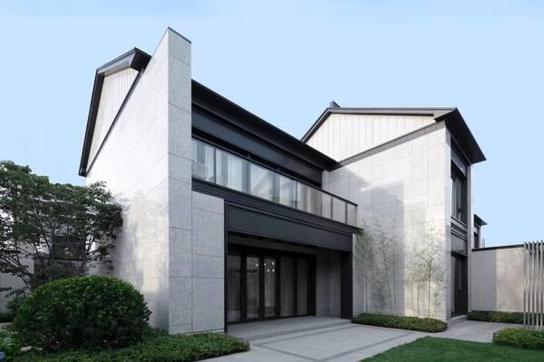 220 m顶级中式韵味的现代风格合院别墅豪宅设计 打造理想生活!图片