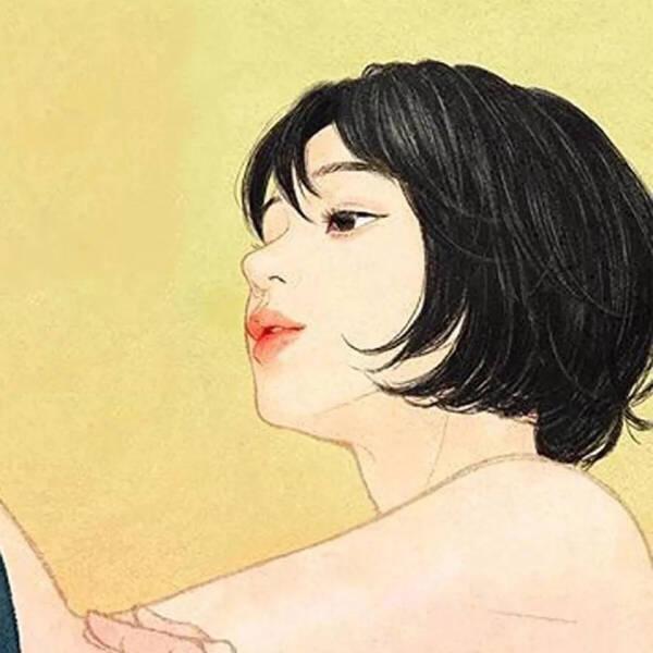 好看的微信头像(女生头像,动漫头像,情侣头像大全)保存方法:点击图片