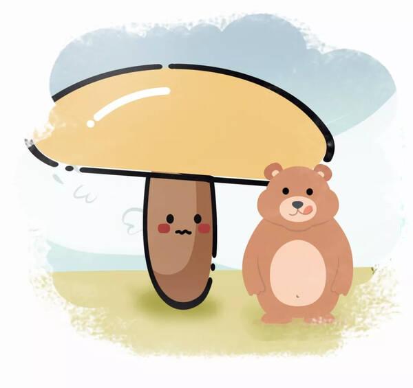 多宝萌萌讲故事|小动物大战笨笨熊