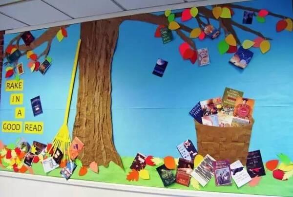 n款幼儿园秋季创意手工 主题环创 树叶粘贴画!图片