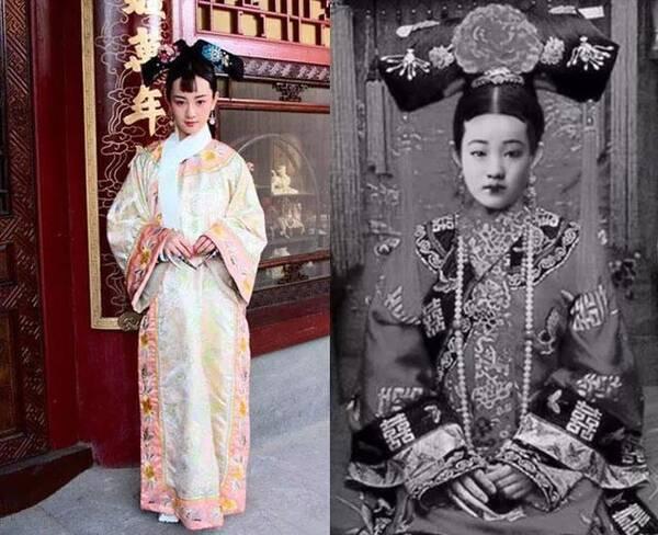 看过清朝嫔妃的真实照片,才知道清宫剧都是骗人的!