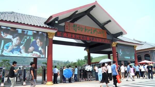 临沂这些人去展馆,知青村,野生动物园.等都干了些