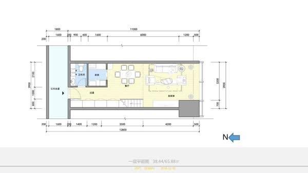 适合工薪族月供的小户型,loft设计案例