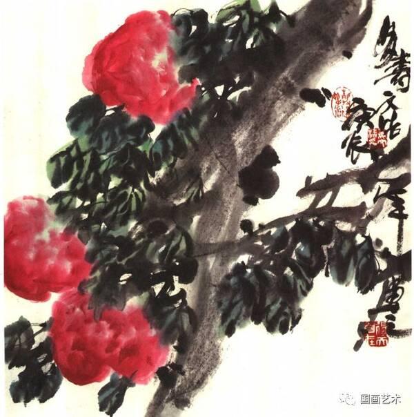 图文教程:写意寿桃画法步骤