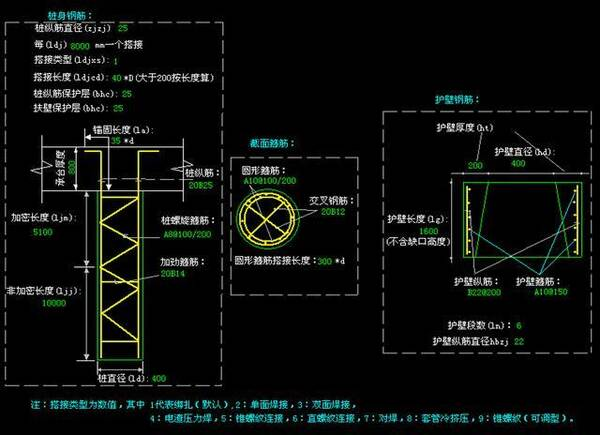 砌体网片计算  圈梁标准构造  构造柱的计算 (1)砖混结构的构造柱设置位置:外墙四角、墙交接处、较大洞口两侧。 (2)构造柱上下加密500MM. (3)构造柱与墙设置拉结筋26@500,伸入墙长度1M. (4)横墙内构造柱间距不宜大于层高2倍。 砌体结构中挑梁计算  砌体结构中挑梁应进行抗倾覆计算,挑梁埋入砌体内的长度为挑出长度的1.