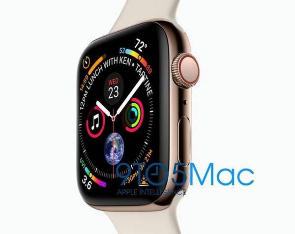 苹果s4腕表_apple watch s4渲染图曝光/新iphone价格曝光/苹果新机有新金色