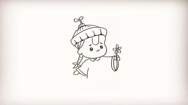 简笔画-僵小鱼