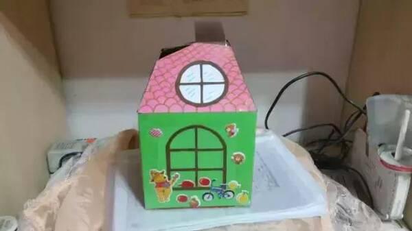 小小传承人:5款幼儿园手工制作简单的卡通小房子
