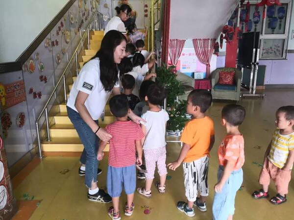 【开学第一课】区第一幼儿园开展幼儿安全教育