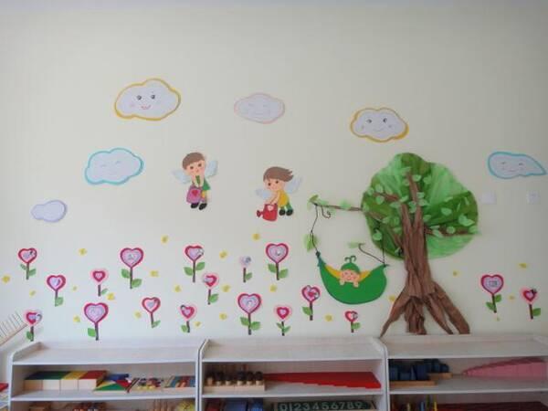 幼儿园开学缤纷多彩的班级环境布置