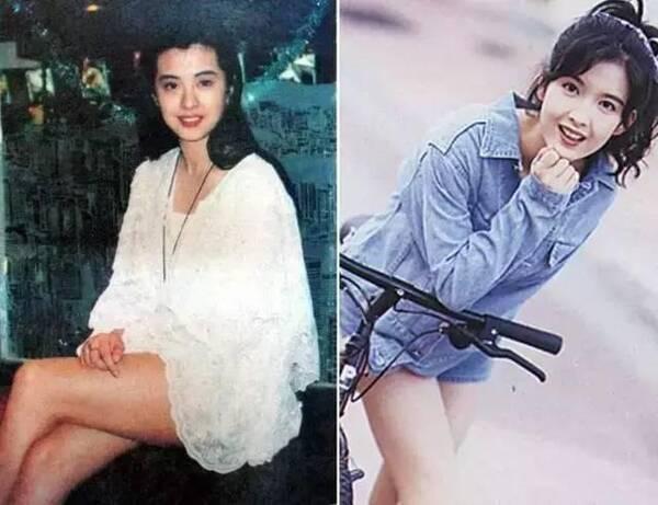 看看20年前朱茵林青霞港风穿搭,她们才是时尚前沿!图片