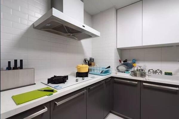 159的简约北欧风,厨房v厨房了中式时代和西式厨房!维拓同时建筑设计上市图片