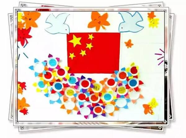 小小传承人:幼儿园国庆节主题墙设置,底部附8款主题