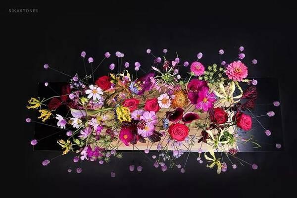 跳跃在南纬21°,这群花艺师终于活过来了!