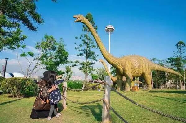 庆国庆,六盘水大河堡凉都花海恐龙,稻草人文化艺术节!图片