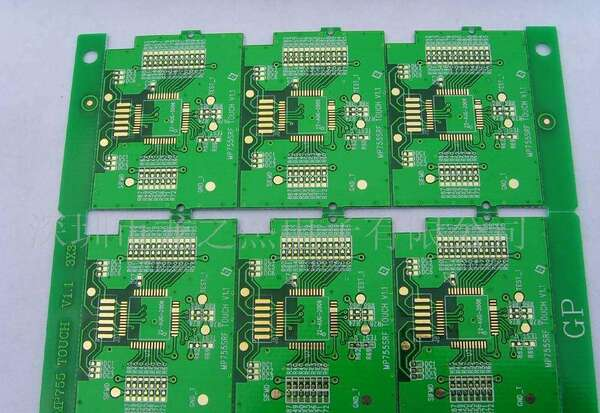 v-cut槽电路板切割就是在线路板要分板的位置两面都割出一条v型直线浅