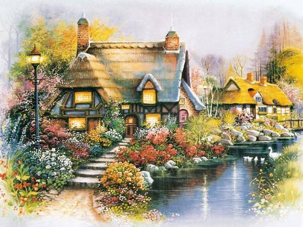 心理测试:选一幅最喜欢的风景画,测你喜欢的人会在哪里等你?