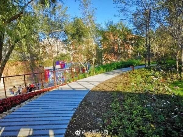 长春最新网红打卡处,水文化生态园引爆市民热情,有创意还免费!图片